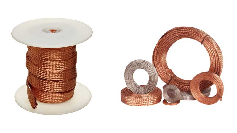 Copper Braided Strip, Copper Braided Wire Manufacturer and Suppliers